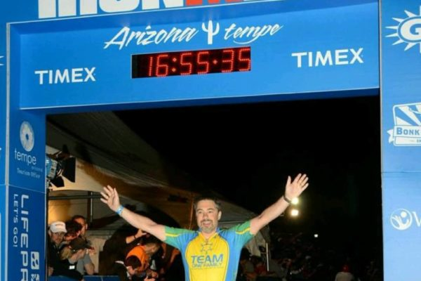 David Roher Ironman finisher