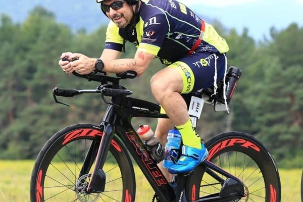 David Roher racing ironman triathlon coach