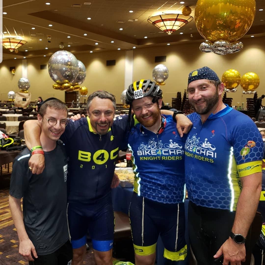 David Roher at Bike4Chai